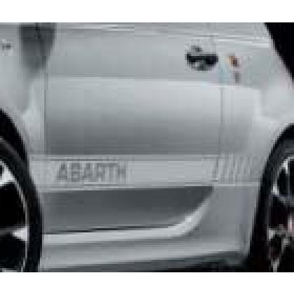 595/595c/Turismo/Competizione - Side Stripes/Decals - White