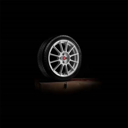 595/595c Stylish Sport Alloy Wheel Set - Essesse - White
