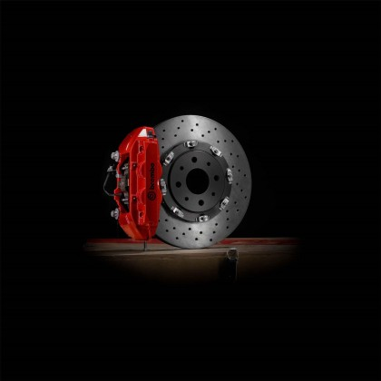 595/595c Brembo Advanced Extreme Braking System - Red