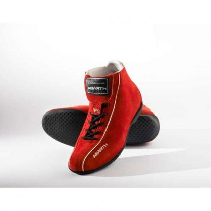 Team Racing Driving Shoes - Red - Size 4 (Uk)