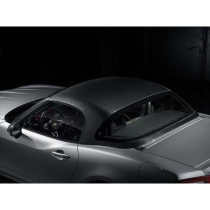 124 Spider Carbon Fibre Foldable/Detachable Roof - Hard Top