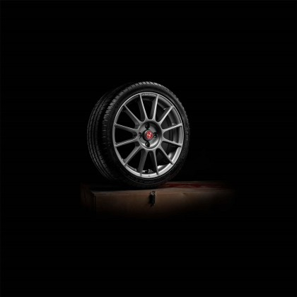 595/595c Stylish Sport Alloy Wheel Set - Essesse - Titanium