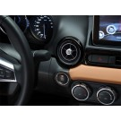 124 Spider Stylish Dashboard Custom Air vents - Black