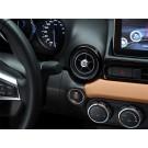 124 Spider Stylish Dashboard Custom Air vents - Black